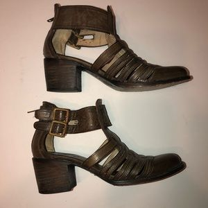 Freebird Blake Leather bootie Sz 7